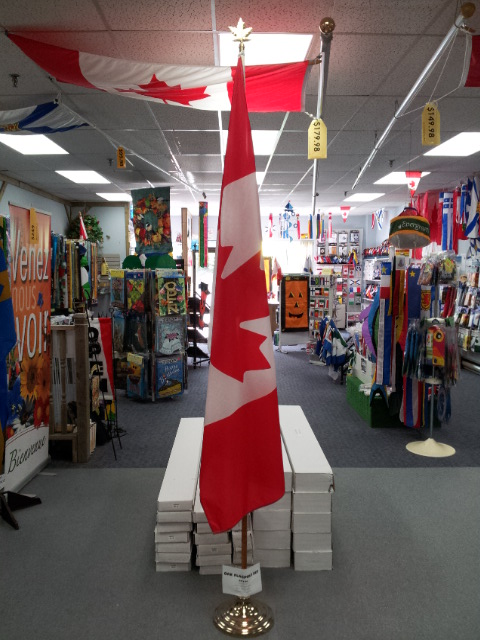 Indoor Flagpole Kits